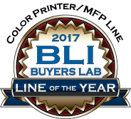 Lexmark 贏得 2017 年買家實驗室 (Buyers Lab) 彩色打印機/多功能打印機產品線年度大獎
