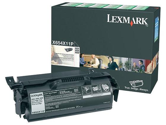 X654X11P - X654,X656,X658 Extra High Yield Return Program Print Cartridge