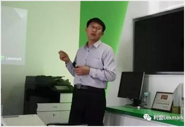 利盟中國區解決方案顧問劉志國先生
