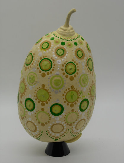 Hand Painted Calabash