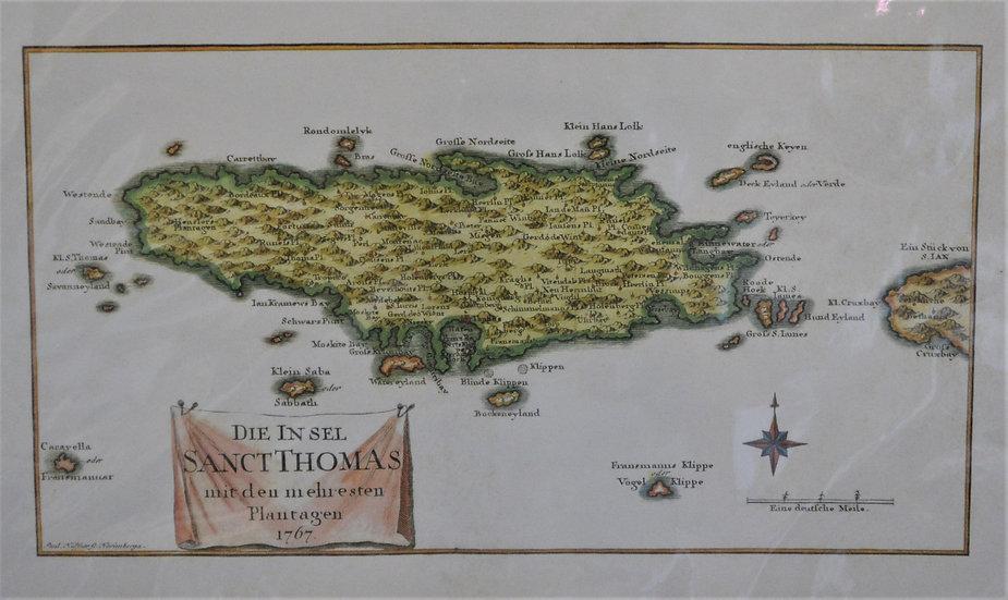Carte de Isle Sainte Croix Map