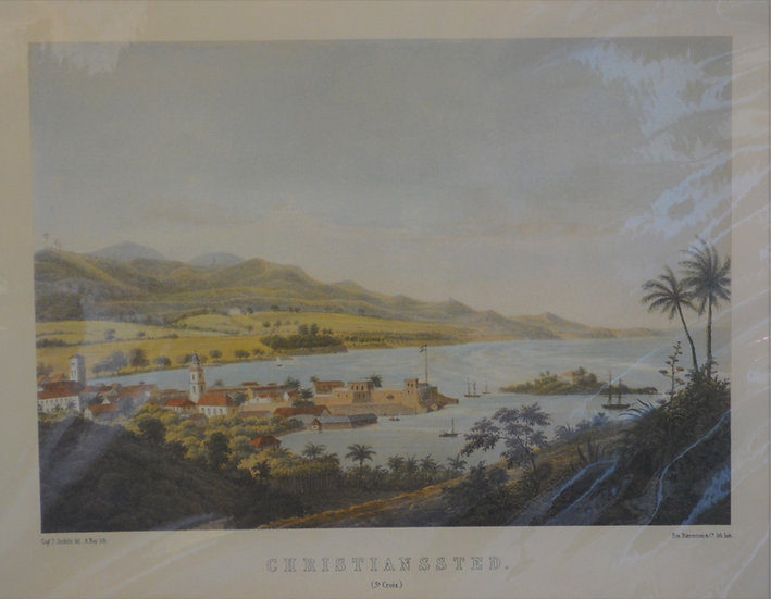 Christiansted View 1850