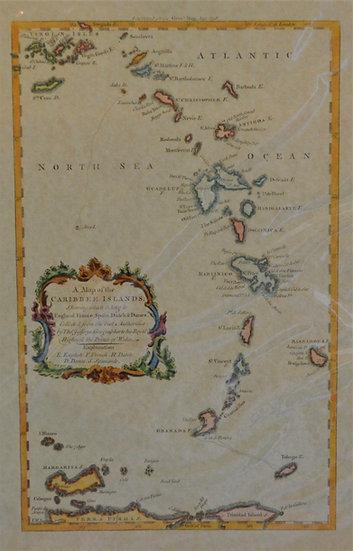 Caribbee Islands Map