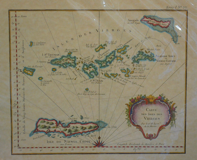 VI Maritime Map
