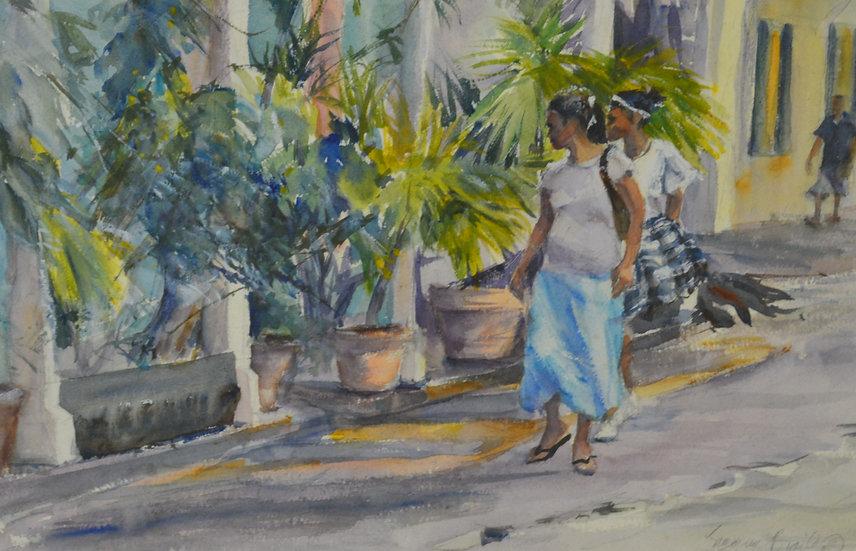 Walking Strand Street