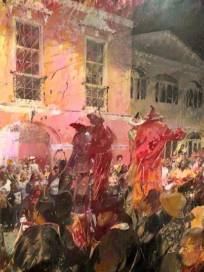 Moko Jumbie Night Parade