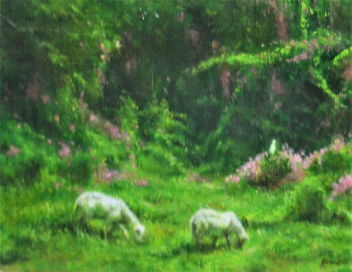 Two Goats in La Grange