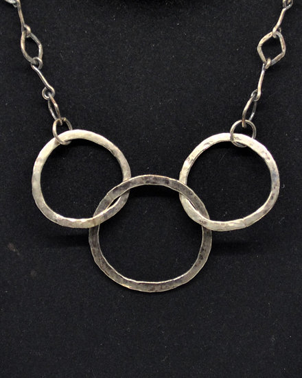 Olympic Circle Necklace