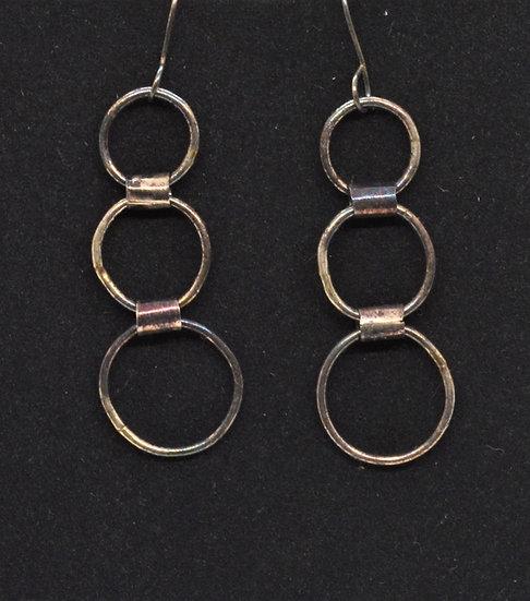 Laddered Hoop Earrings