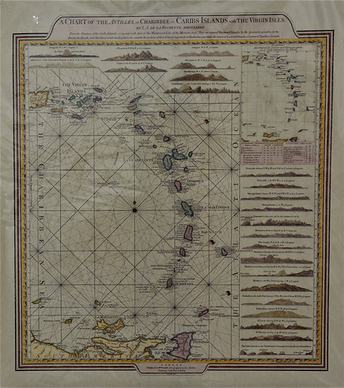 Chart Of Antilles Map
