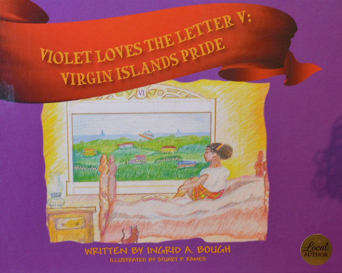 Violet Loves The Letter V