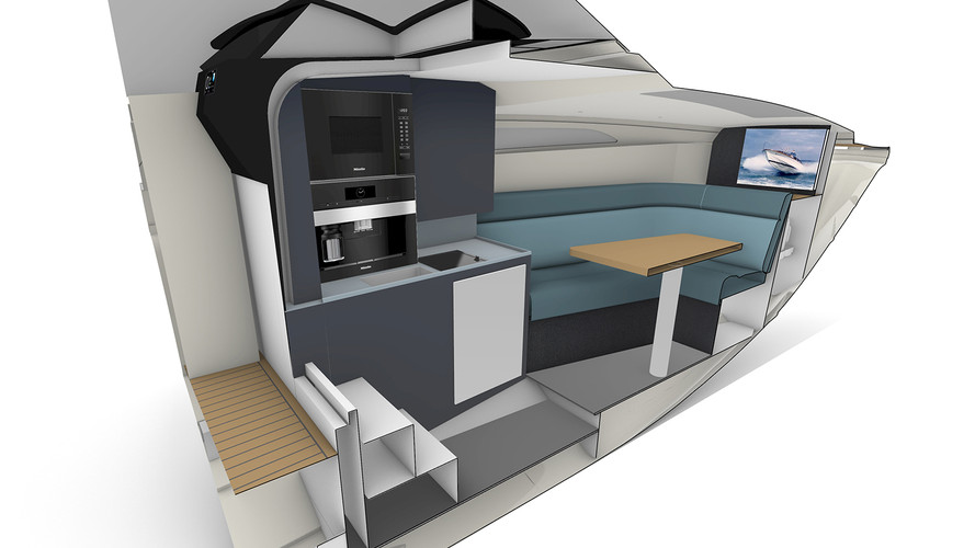 STYLISH COMPACT GALLEY