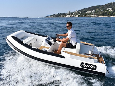 Agilis Jet Tenders - Now available from Williams Marine and Watersports.