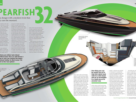 See the Spearfish 32 in this months' Powerboat & RIB Magazine