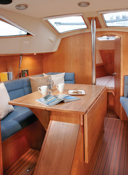 Sette berths port and starboard