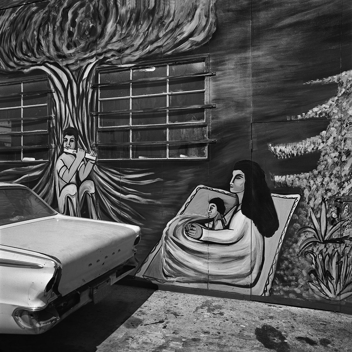 Mother & Child Mural, East Los Angeles, 1978