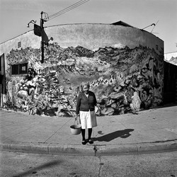 Woman with Bucket, East Los Angeles, 1978