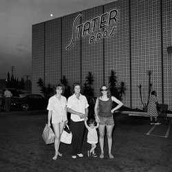 Family at Stater Bros, 1976
