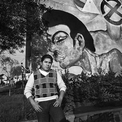 Young Man Wearing Argyle Sweater, East Los Angeles, 1978