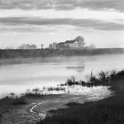 Ranch House and Tule Fog, 1969