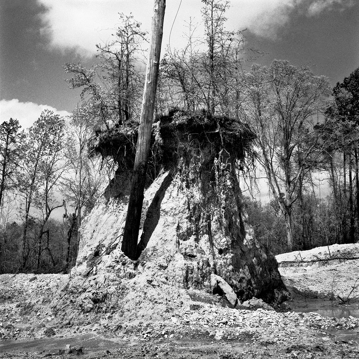 Land Excavation, Mississippi, 1997