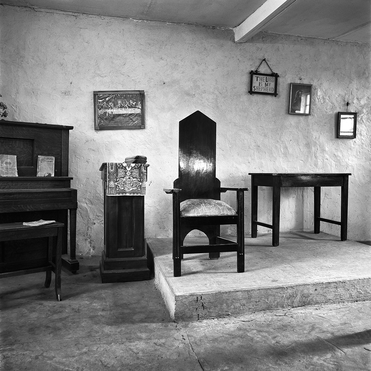 Church Interior, 1972