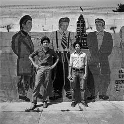 Two Young Men, East Los Angeles, 1978