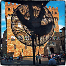 Piazza della Signoria, Florence, Italy, 2012