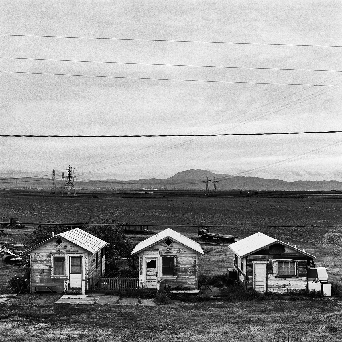 Three Farmworker Cabins, 1969