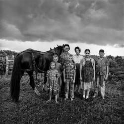 Ed & Eliza Stilley Family, 1973