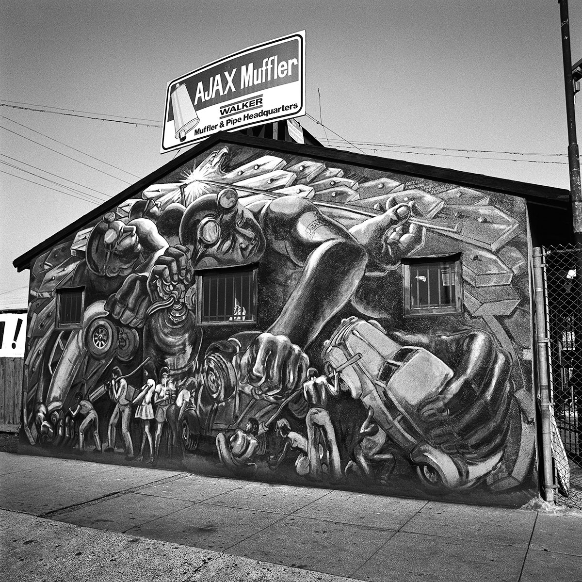 Muffler Shop, East Los Angeles, 1978