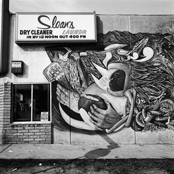 Laundry & Dry Cleaner, East Los Angeles, 1978