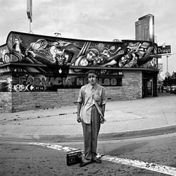 Young Man at Farmacia, East Los Angeles, 1978
