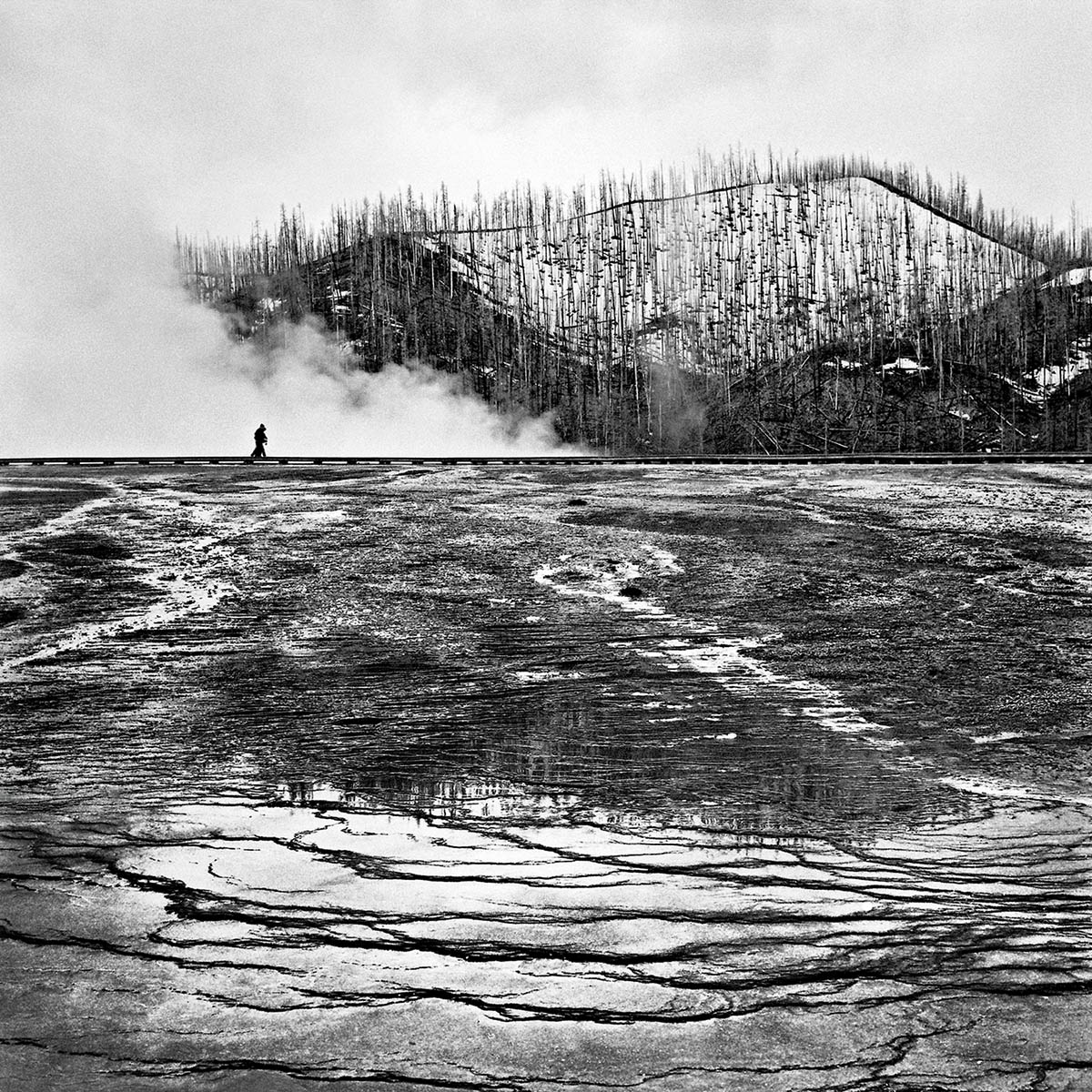 Grand Prismatic Spring, Yellowstone, Wyoming, 1997