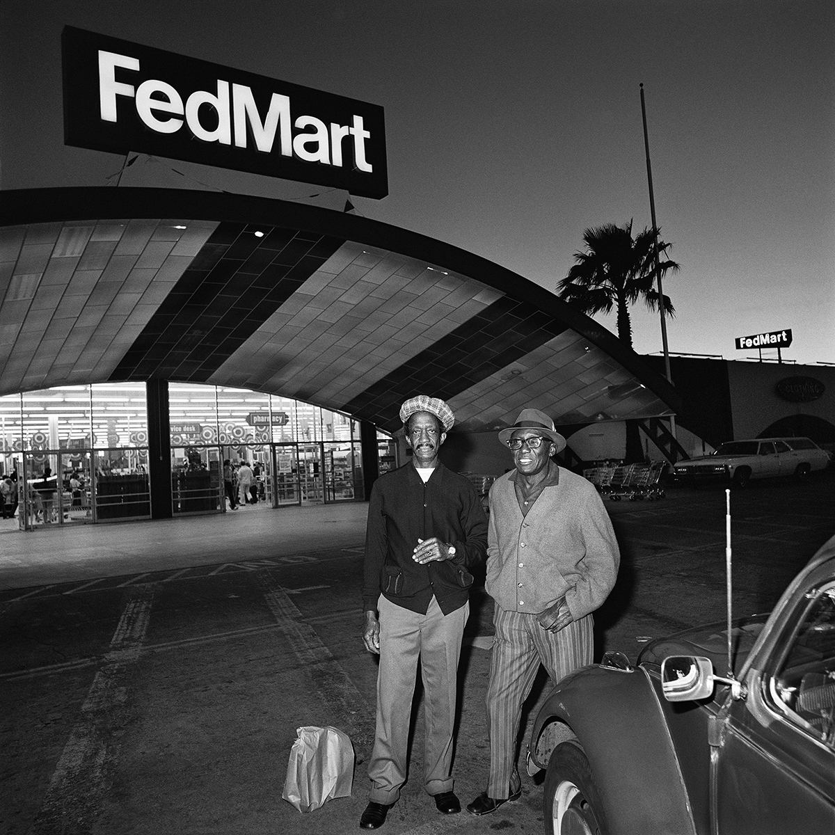 Two Men at FedMart, 1976