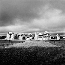 Carhenge near Alliance, Nebraska, 1997