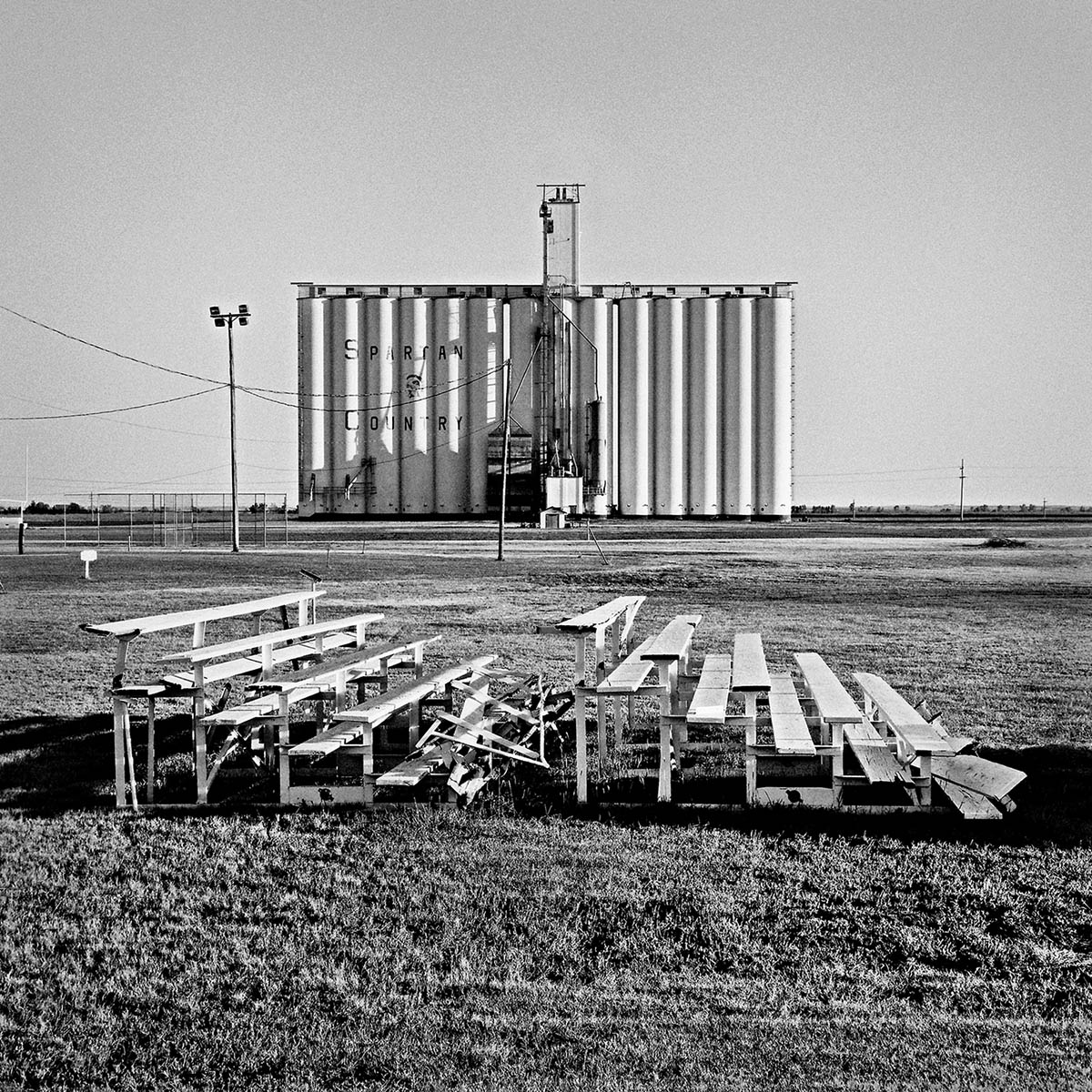 Spartan Grain Elevators, Nebraska, 1998