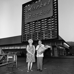 Couple at Market Basket, 1976