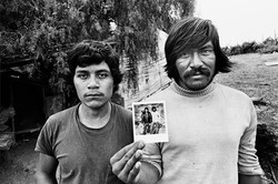 Two Fieldworkers with Polaroid, 1979