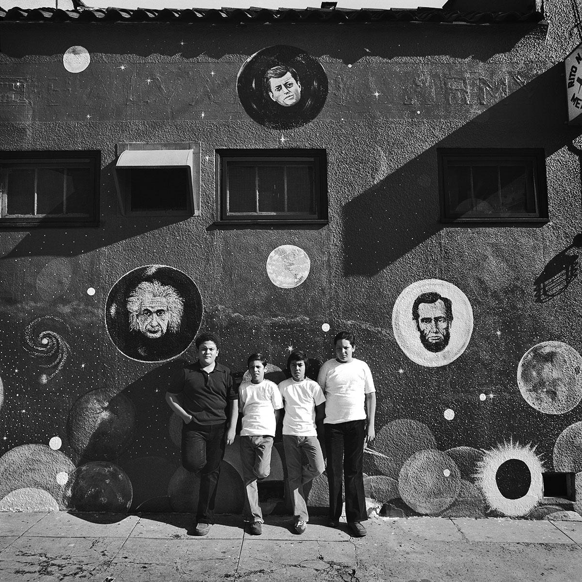 Four Boys, East Los Angeles, 1978