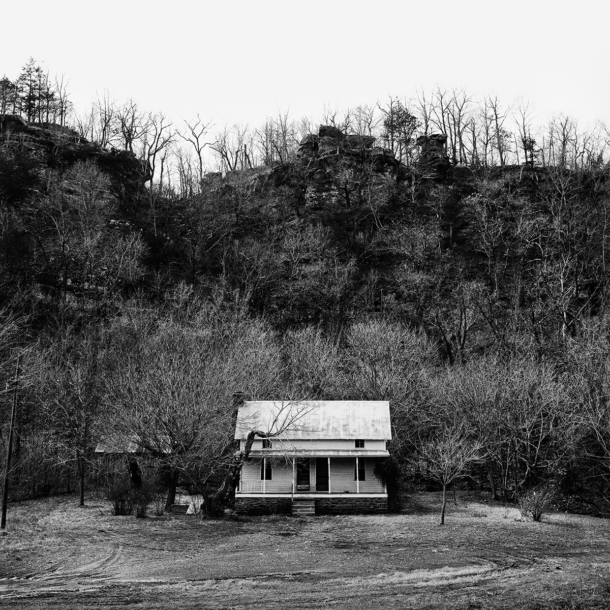 House with Bluff, 1970