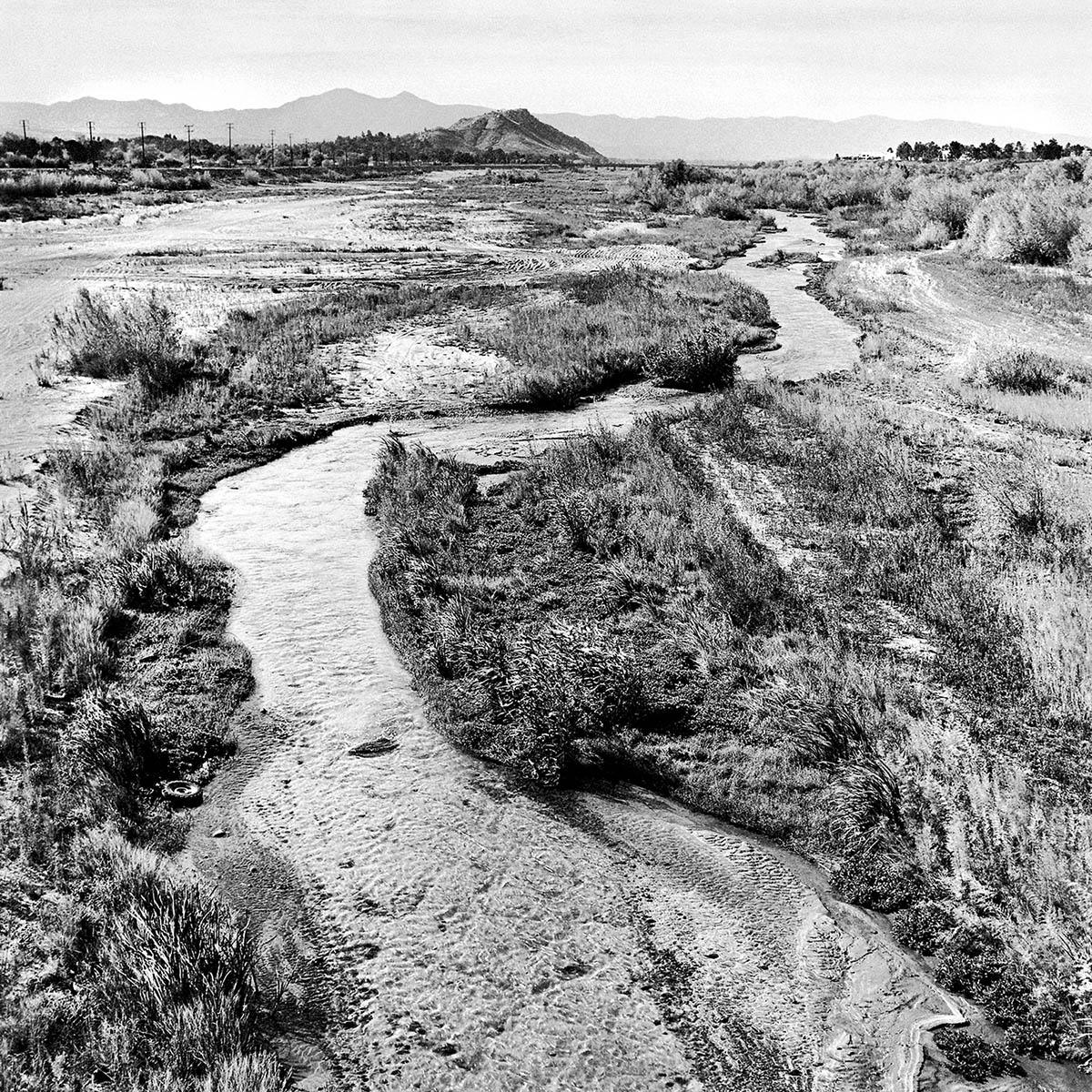Santa Ana River, Riverside, California, 1995