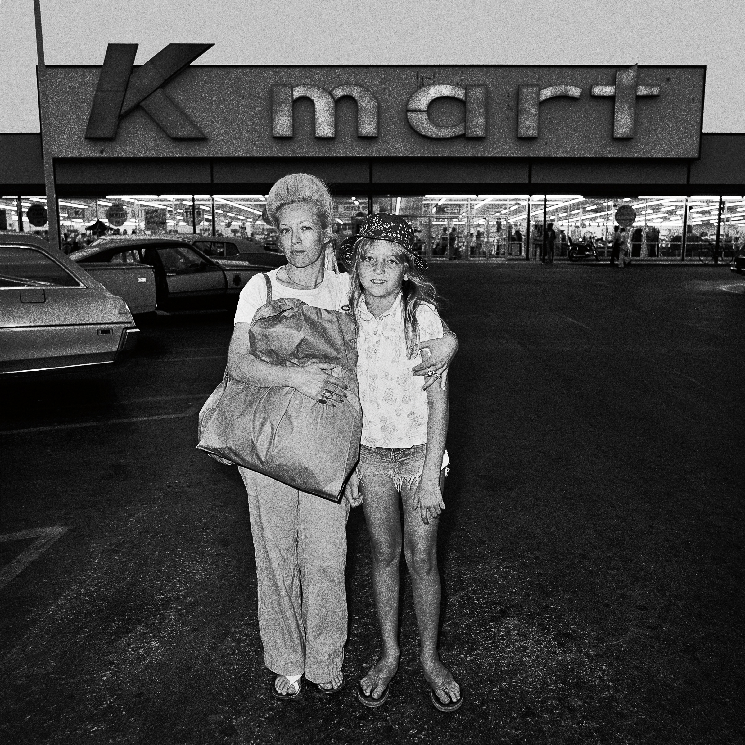 Mother & Daughter at Kmart, 1976