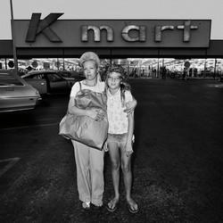 Mother & Daughter at Kmart, 1976