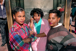 Three Teenagers on Market St, 1986