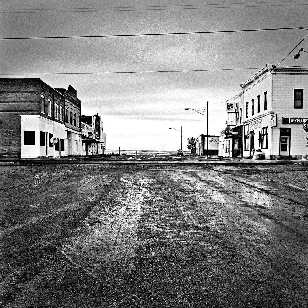 Crossroads on Highway 26, Wyoming, 1996