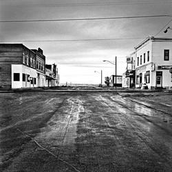 Crossroads on Highway 26, Wyoming, 1996