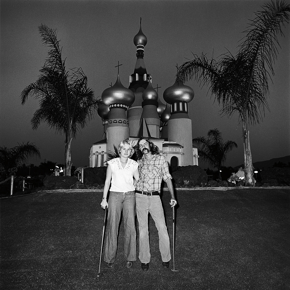Couple at Minature Golf, 1976