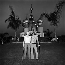 Couple at Minature Golf, 1976