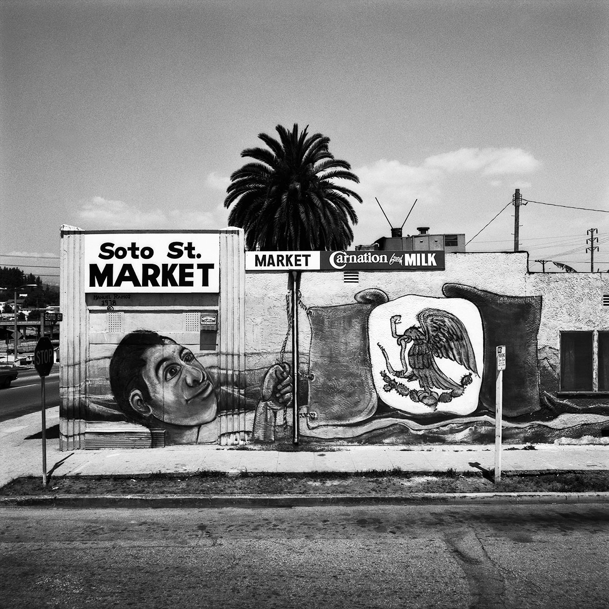 Soto Street Market,  East Los Angeles, 1978